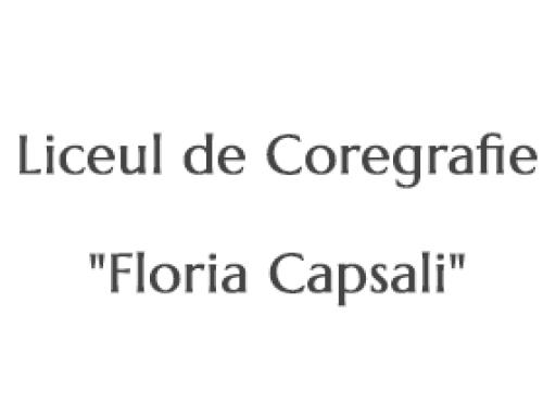 """Liceul de Coregrafie """"Floria Capsali"""""""