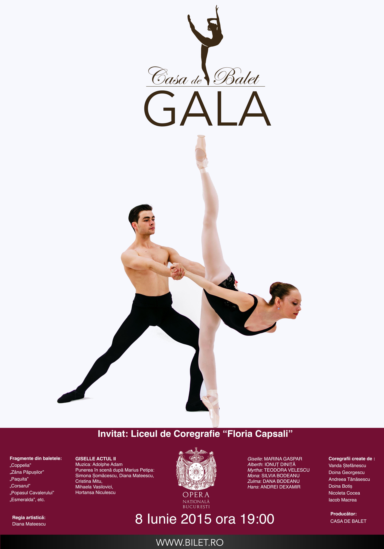 gala cesei de balet
